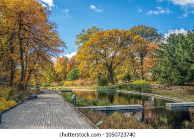 New York, NY/USA-11-04-16: The New York Botanical Garden