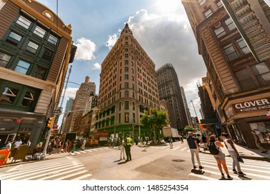 New York NY/USA-August 22, 2019 The NoMad Hotel on Broadway in New York