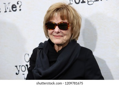 "NEW YORK - OCT 14, 2018: Jane Curtin attends the premiere of ""Can You Ever Forgive Me?"" at the SVA Theater on October 14, 2018, in New York City."