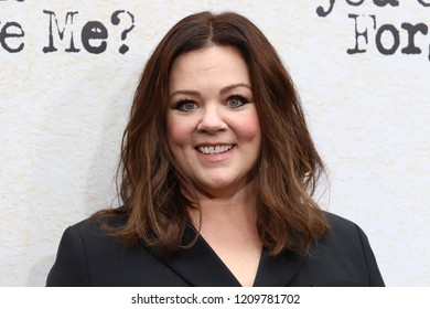 "NEW YORK - OCT 14, 2018: Melissa McCarthy attends the premiere of ""Can You Ever Forgive Me?"" at the SVA Theater on October 14, 2018, in New York City."