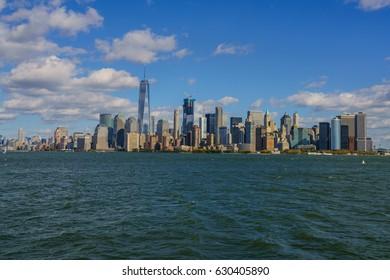 NEW YORK - OCT 23: Ellis Island National Museum of Immigration at Ellis Island on Oct 23, 2016 in New York, USA.