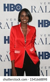 """NEW YORK - OCT 23: Ubah Hassan attends HBO's """"Very Ralph"""" World Premiere at The Metropolitan Museum of Art on October 23, 2019 in New York City."""