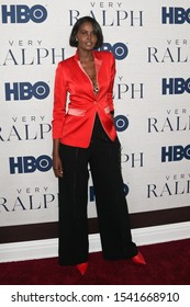 "NEW YORK - OCT 23: Ubah Hassan attends HBO's ""Very Ralph"" World Premiere at The Metropolitan Museum of Art on October 23, 2019 in New York City."