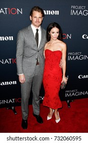 NEW YORK- OCT 24: Actors Josh Pence and Abigail Spencer attend the premiere of Canon's 'Project Imaginat10n' Film Festival at Alice Tully Hall at Lincoln Center on October 24, 2013 in New York City.