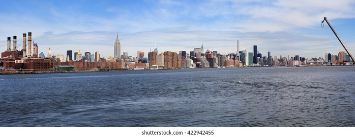 New York: panorama from East river