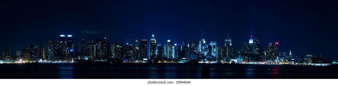 New York Panorama - Manhattan Skyline