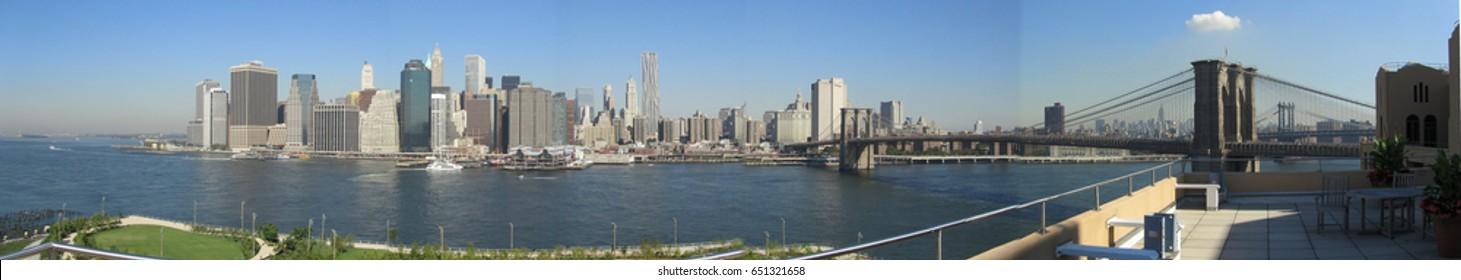 New York Panoramic photo