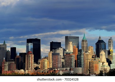 New York from river side