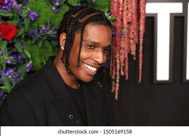 NEW YORK - SEP 12, 2019: A$AP Rocky attends the 5th annual Diamond Ball at Cipriani on September 12, 2019, in New York City.