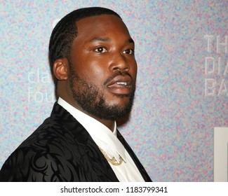 NEW YORK - SEP 13, 2018: Meek Mill attends the 4th annual Diamond Ball at Cipriani on September 13, 2018, in New York City.