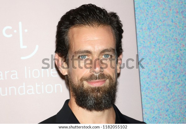 NEW YORK - SEP 13, 2018: Jack Dorsey attends the 4th annual Diamond Ball at Cipriani on September 13, 2018, in New York City.