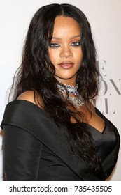 NEW YORK - SEP 14, 2017: Rihanna attends the 3rd annual Diamond Ball at Cipriani on September 14, 2017, in New York City.