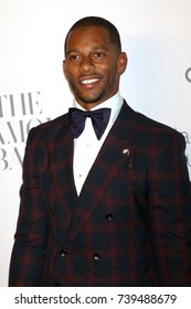 NEW YORK - SEP 14, 2017:  Victor Cruz attends the 3rd annual Diamond Ball at Cipriani on September 14, 2017, in New York City.