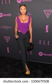 NEW YORK, NEW YORK - SEPTEMBER 05: Jeannie Mai attends ELLE, Women in Music presented by Spotify and hosted by Nina Garcia, Jameela Jamil & E! Entertainment on September 05, 2019 in New York City.