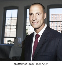 NEW YORK - SEPTEMBER 07: Nigel Barker backstage during Spring/Summer 2014 Fashion week for Rebecca taylor collection at Center 548 in Chelsea on September 07, 2013 in New York City