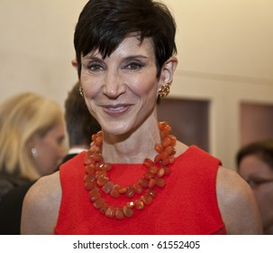 NEW YORK - SEPTEMBER 21: Amy Collins attends the opening of Tamsen Z luxury jewelry store on September 21, 2010 in New York City.