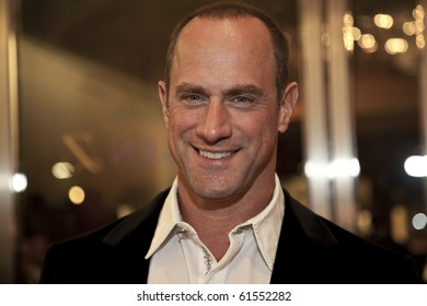 NEW YORK - SEPTEMBER 21: Chris Meloni attends the opening of Tamsen Z luxury jewelry store on September 21, 2010 in New York City.
