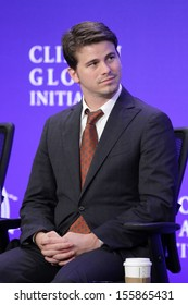 NEW YORK - SEPTEMBER 25: Jason Ritter attends the Clinton Global Initiative Annual Meeting at The Shertaon New York Hotel on September 25, 2013 in New York City.