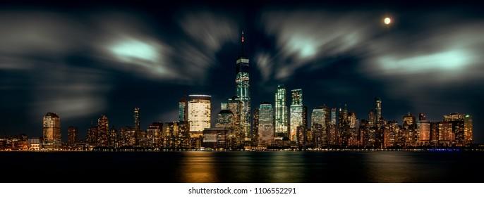 New York Skyline from Newport