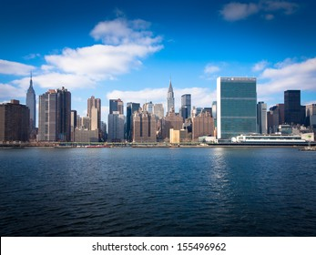 New York Skyline from the River
