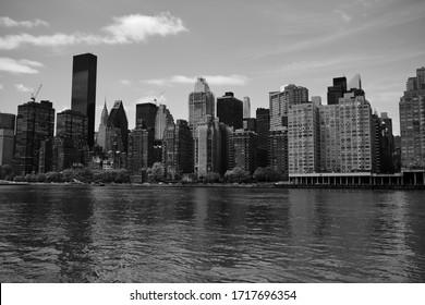 New York Skyline from Roosevelt Island