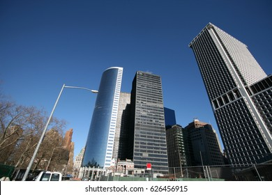 The New York skyscrapers in Manhattan, USA