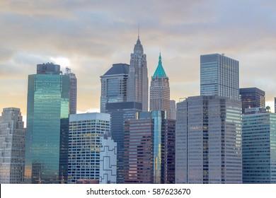 New York Skyscrapers, USA