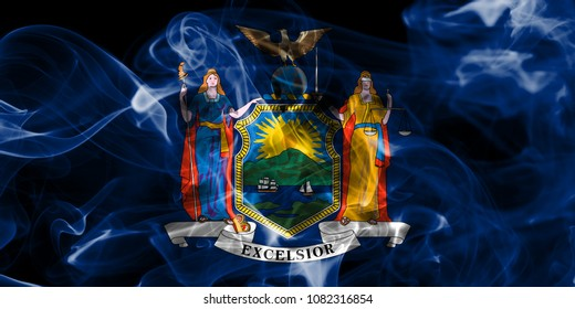 New York state smoke flag, United States Of America