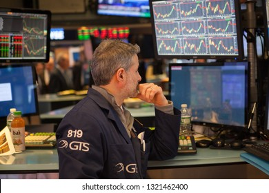 The New York Stock Exchange is an American stock exchange located at 11 Wall Street, Lower Manhattan, New York City. In stock exchange billions of dollars of stocks are traded daily. 11/12/2018