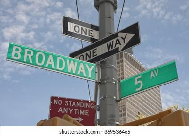 New York - Street Signs