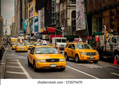 New York Taxi. NYC. USA