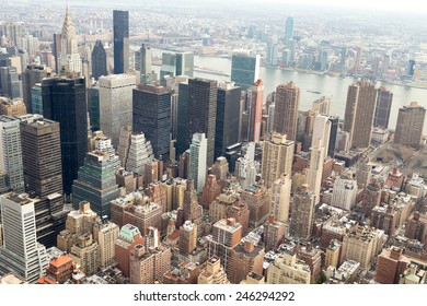 New York top view