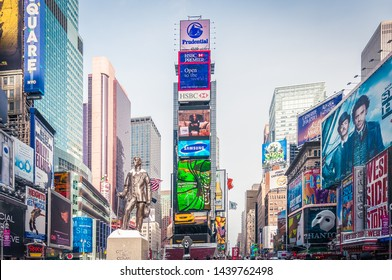 NEW YORK, UNITED STATES - DECEMBER 20, 2009: Times Square in New York City, United States of America.