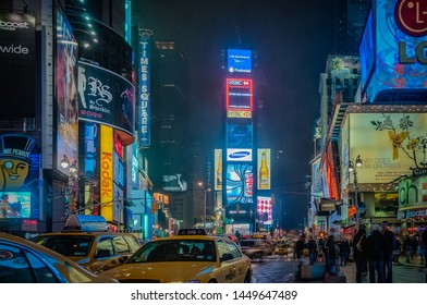 NEW YORK, UNITED STATES - JANUARY 1, 2010: Times Square in New York City, United States of America.