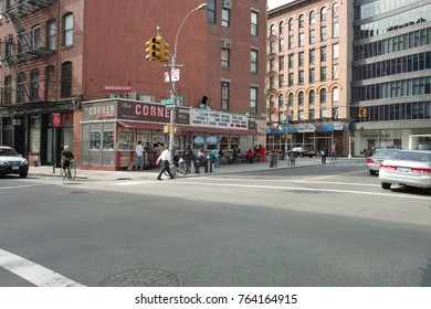 New York, United States - October 08, 2008: View of a deli in New York City