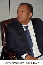 New York, United States. September 19th 2016 - Mangala Pinsiri Samaraweera, Sri Lankan Minister of Foreign Affairs