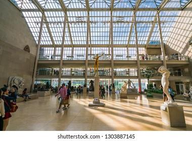 NEW YORK, USA - 09-01-17: Metropolitan Museum of Art in New York City.