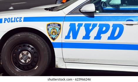 NEW YORK USA 10 27 13:  New York City Police Department (NYPD), officially the City of New York Police Department, is the largest municipal police force in the United States.Established in 1845,