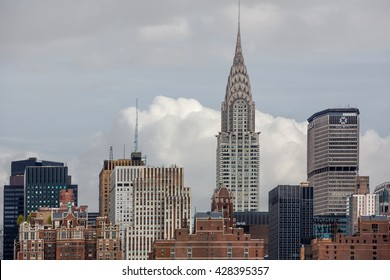 Art Deco-style Skyscraper Located On The East Side Images, Stock ...