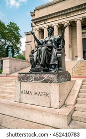 Columbia Alma Mater Stock Photos, Images & Photography