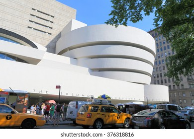 NEW YORK, USA- JUN 29: Solomon R. Guggenheim Museum