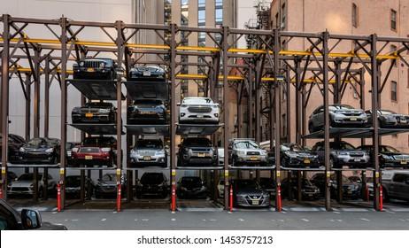 Multilevel Car Parking Images, Stock Photos & Vectors