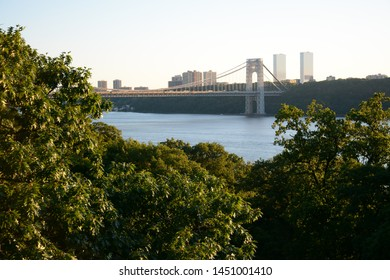 NEW YORK, USA - JUNE 30, 2019: Fort Tryon Park in Fort George north of Manhattan