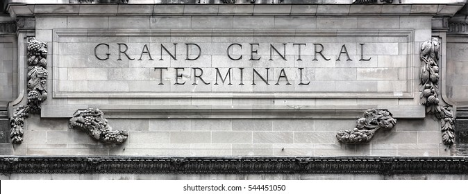NEW YORK, USA - May 02, 2016: Grand Central Terminal is a commuter, rapid transit railroad terminal at 42nd Street and Park Avenue in Midtown Manhattan in NYC