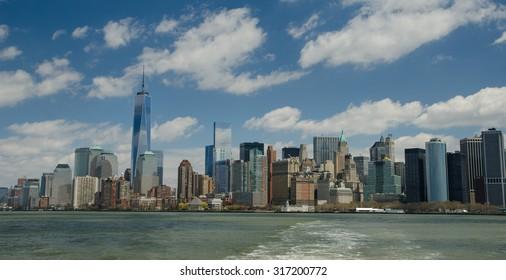 New York, USA - May 14: Manhattan on May 14, 2014 in NY.
