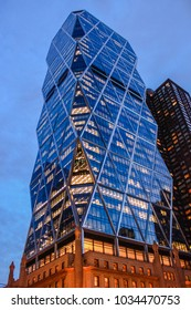 NEW YORK, USA - MAY 26, 2014: The Hearst Tower