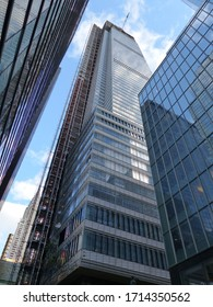 New York, USA / USA - November 2019: One57 construction in New York