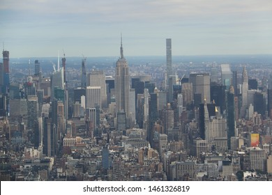 New York, USA - October 5, 2018: New York City is the most populous city and one of the most popular tourist's destinations in the United States.