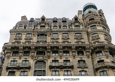 New York, USA - September 22, 2015: The Ansonia hotel is building on the Upper West Side of New York City, located at 2109 Broadway, between West 73rd and West 74th Streets.