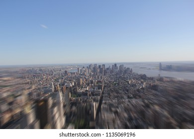 New York: View on the financial district